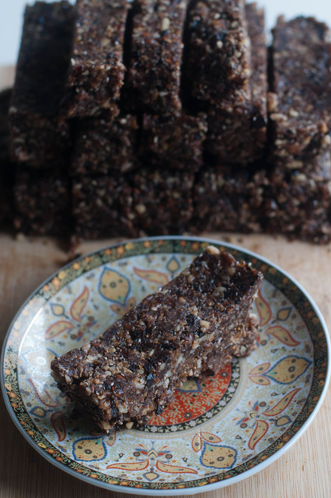 RED REIDING HOOD: recept powerfood Rens Kroes gezonde snackrepen recipe healthy raw bars repen
