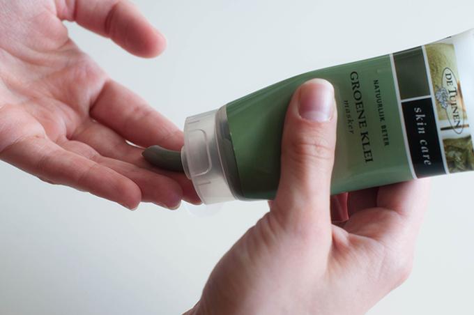 RED REIDING HOOD: Beauty blogger groene klei masker de tuinen review ervaring tea tree olie