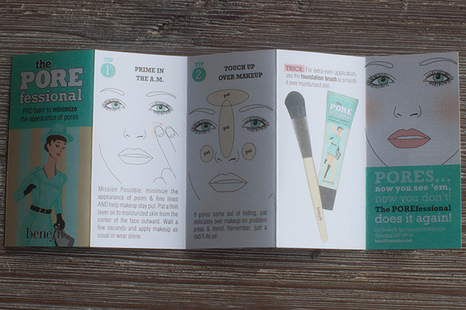 RED REIDING HOOD: Beauty blogger review benefit porefessional ervaring manual how to instructions apply