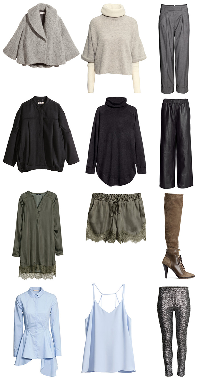 RED REIDING HOOD: Fashion blogger H&M Fall 2014 trend collection favorites H&M studio picks