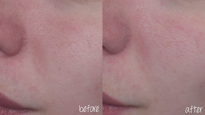 RED REIDING HOOD: Beauty blogger review benefit porefessional before after photos voor na foto's ervaring