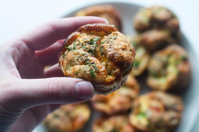 RED REIDING HOOD: Guilt free food egg muffins de voedselzandloper ei muffins recept