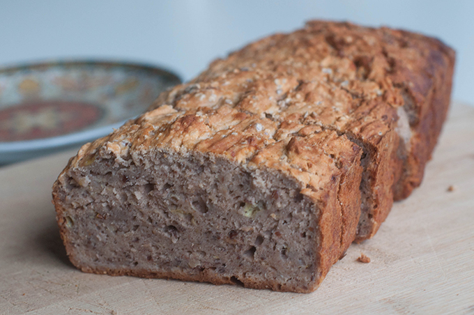 RED REIDING HOOD: Food recipe banana buckwheat cake clean eating voedselzandloper recept banaan boekweit cake