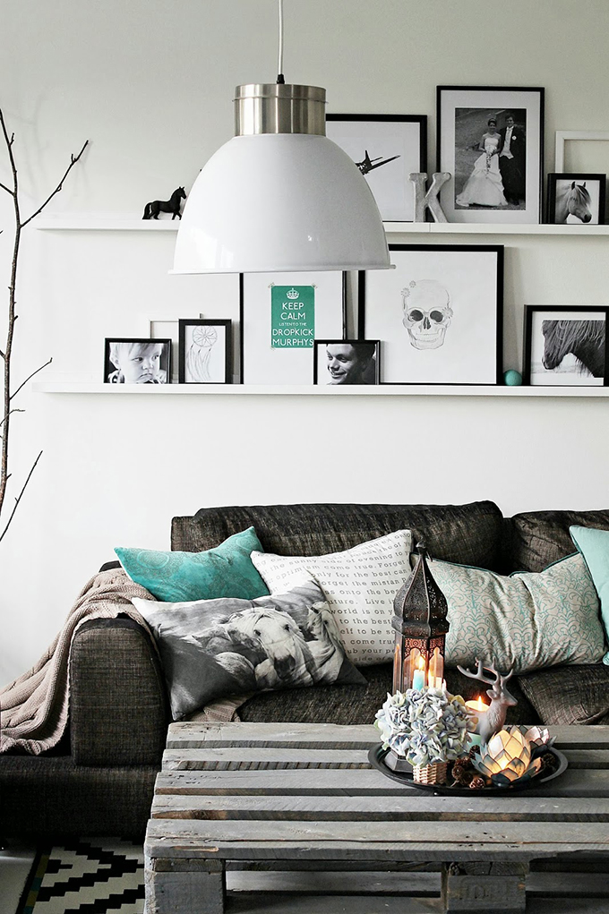 RED REIDING HOOD: Home inspiration interior idea pinterest blue turquoise details