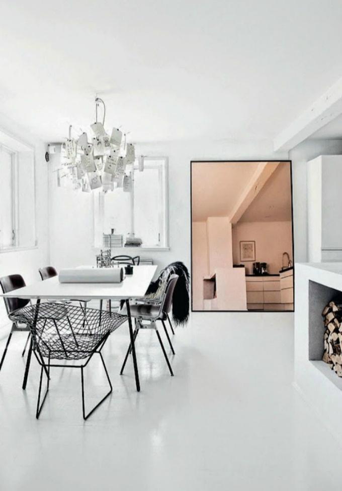 RED REIDING HOOD: Home inspiration interior idea pinterest copper black minimalistic scandinavian