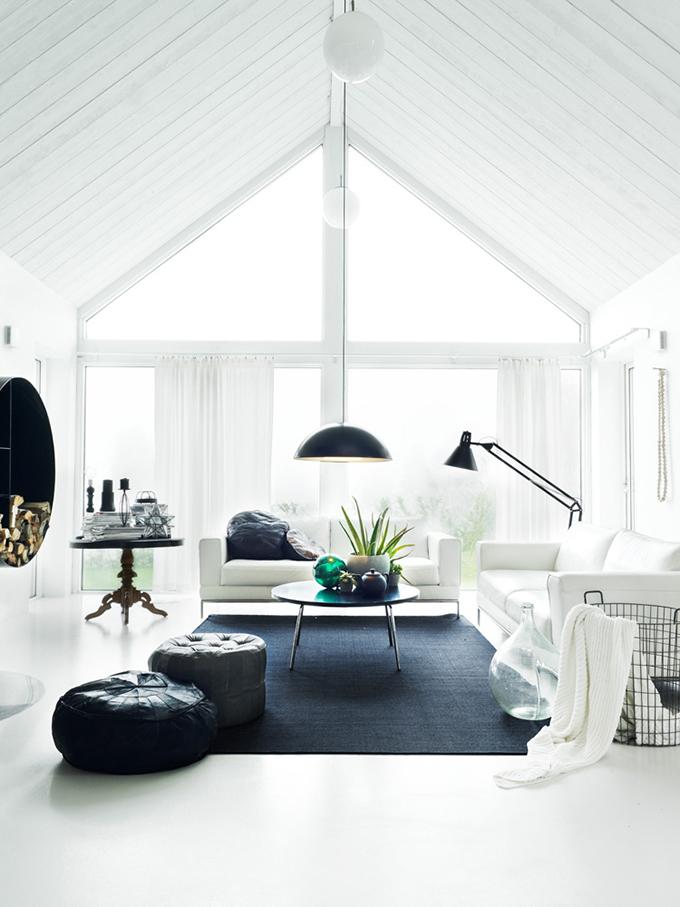 RED REIDING HOOD: Home inspiration interior idea pinterest black blue turquoise details