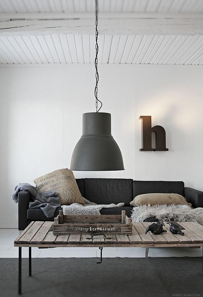 RED REIDING HOOD: Home inspiration interior idea pinterest wooden table factory light