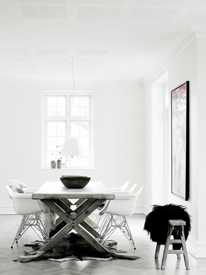 RED REIDING HOOD: Home inspiration interior idea pinterest big wooden table
