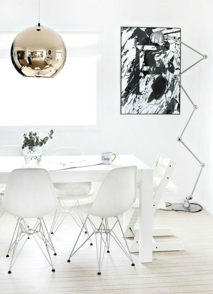 RED REIDING HOOD: Home inspiration interior idea pinterest white gold details