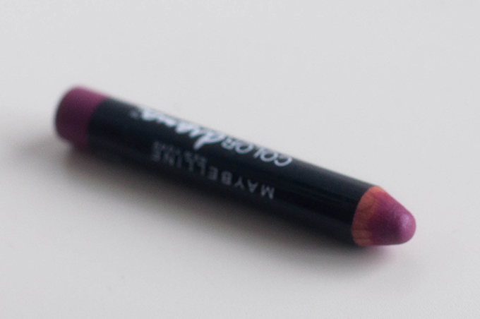 RED REIDING HOOD: Beauty blogger review Maybelline color drama intense velvet lip pencil swatch 110 pink so chic