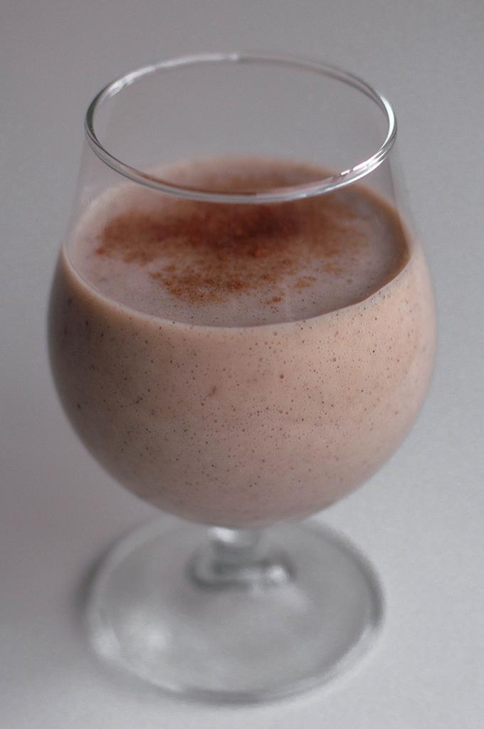 RED REIDING HOOD: Health Christmas recipe clean eating eggnog recept gezonde kerst drankje drink