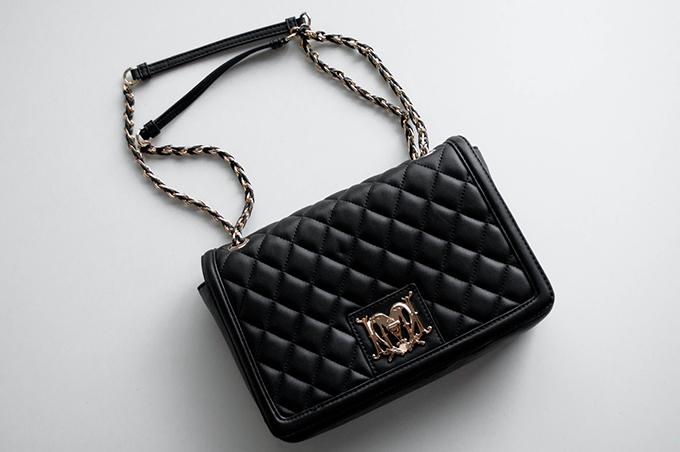 RED REIDING HOOD: Fashion blogger Tessuti Love Moschino medium quilted box bag logo designer purse leather