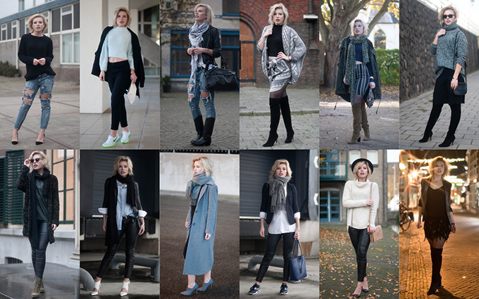 RED REIDING HOOD: Fashion blogger november outfits recap