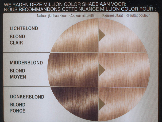 RED REIDING HOOD: Schwarzkopf million color 10-1 stralend blond review haarverf dye radiant blonde
