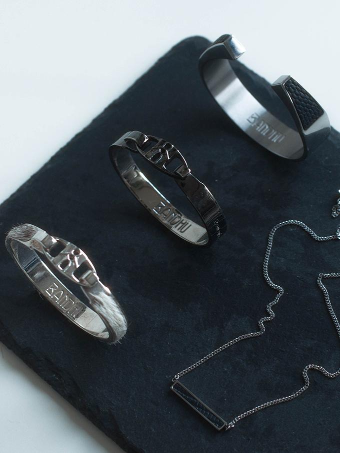 RED REIDING HOOD: Bandhu jewelry union vinyasa guardian bracelet  tiny bare necklace collection flatlay