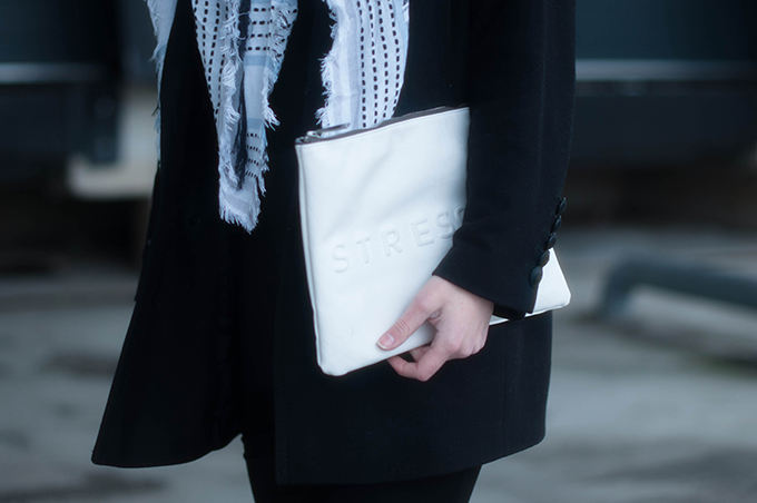 RED REIDING HOOD: Fashion blogger wearing zara clutch stressed but well dressed outfit details