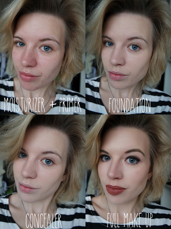 RED REIDING HOOD: Beauty blogger review mac studio fix fluid foundation swatch high coverage acne oily skin