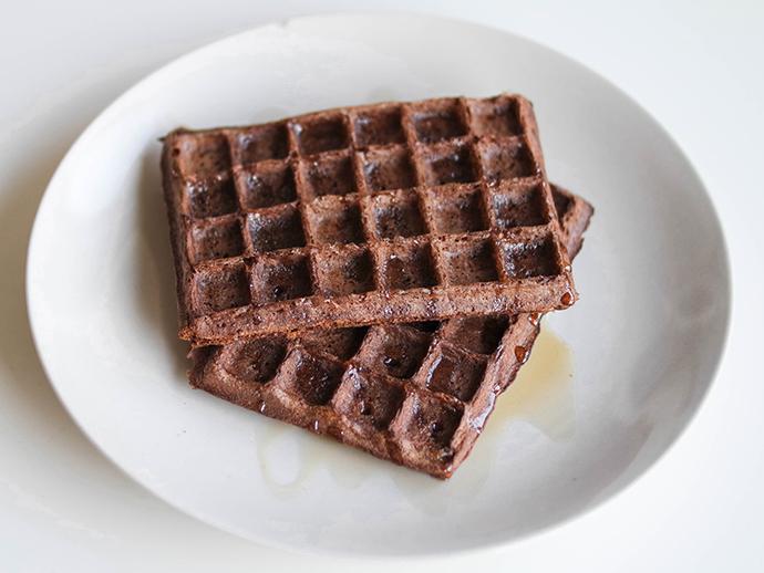 RED REIDING HOOD: Food blogger clean waffles recipe healthy gezond recept de voedselzandloper wafels