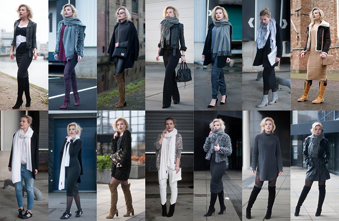 RED REIDING HOOD: January 2015 outfits recap