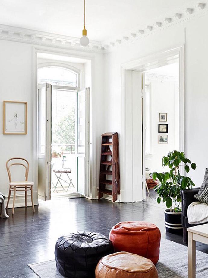 Living Room Poufs : HOME / MOROCCAN POUF  RED REIDING HOODRED REIDING HOOD