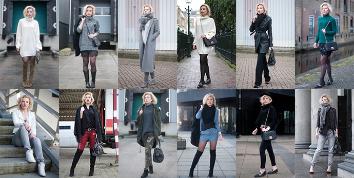 RED REIDING HOOD: February 2015 recap collage outfits