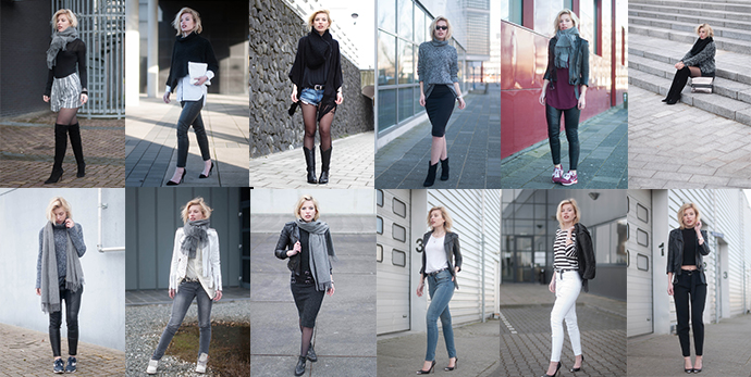 RED REIDING HOOD: March 2015 recap outfits fashion blogger