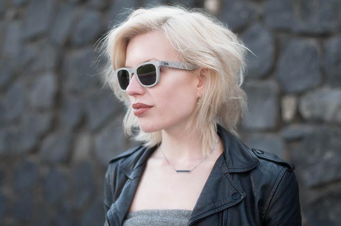 RED REIDING HOOD: Fashion blogger wearing beaverbril stone sunglasses