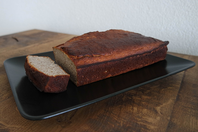 RED REIDING HOOD: Food blogger healthy bananan bread clean recipe bananenbrood gezond recept de voedselzandloper