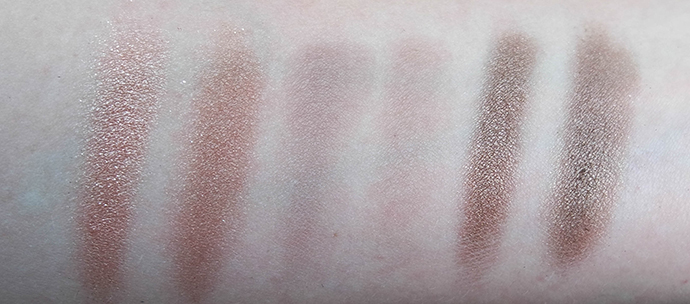 RED REIDING HOOD: Beauty blogger review swatches urban decay naked2 palette versus w7 in the buff palette