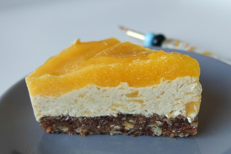 RED REIDING HOOD: Food blogger recipe raw mango tart clean eating gezond recept healthy