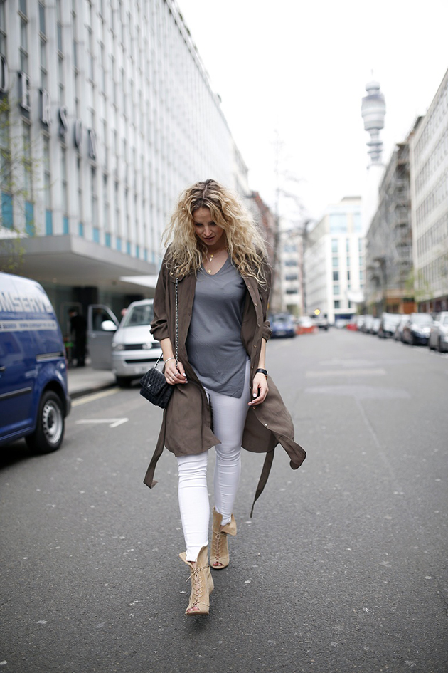 RED REIDING HOOD: Pregnant fashion blogger anouk yve maternity outfit inspiration