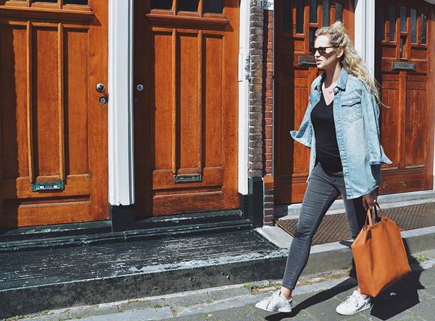 RED REIDING HOOD: Fashion blogger anouk yve pregnant outfit maternity look