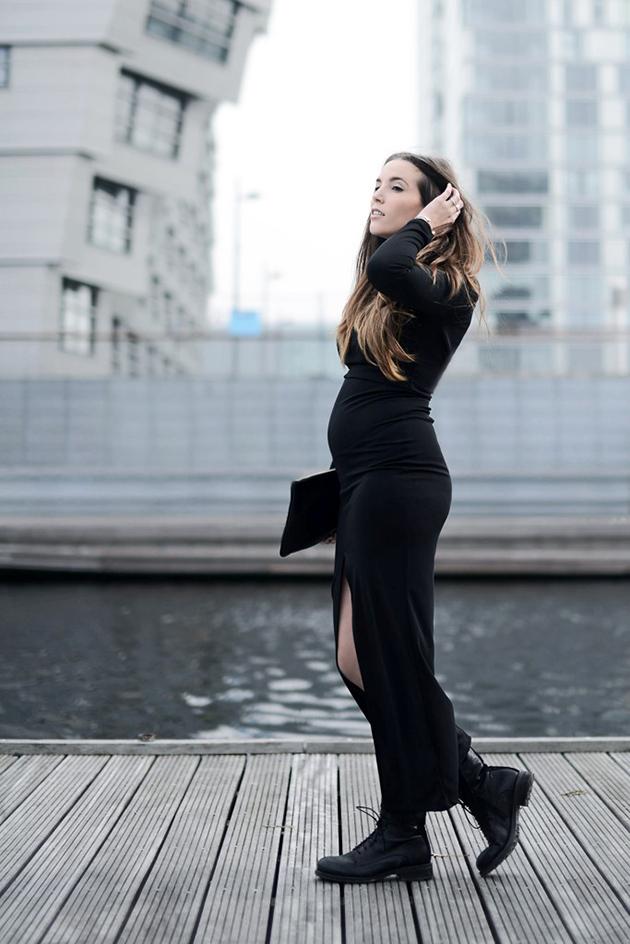 RED REIDING HOOD: Fashion blogger COTTDS come over to the dark side we have fashion cindy van der heyden pregnant zwanger maternity inspiration maxi skirt