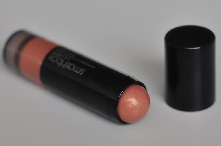 RED REIDING HOOD: Beauty blogger review smashbox l.a. lights blendable lip & cheek color silver lake sunset blushstick