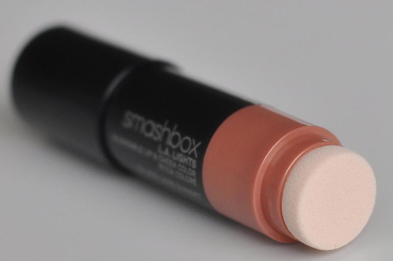 RED REIDING HOOD: Beauty blogger review smashbox l.a. lights blendable lip & cheek color silver lake sunset blushstick sponge