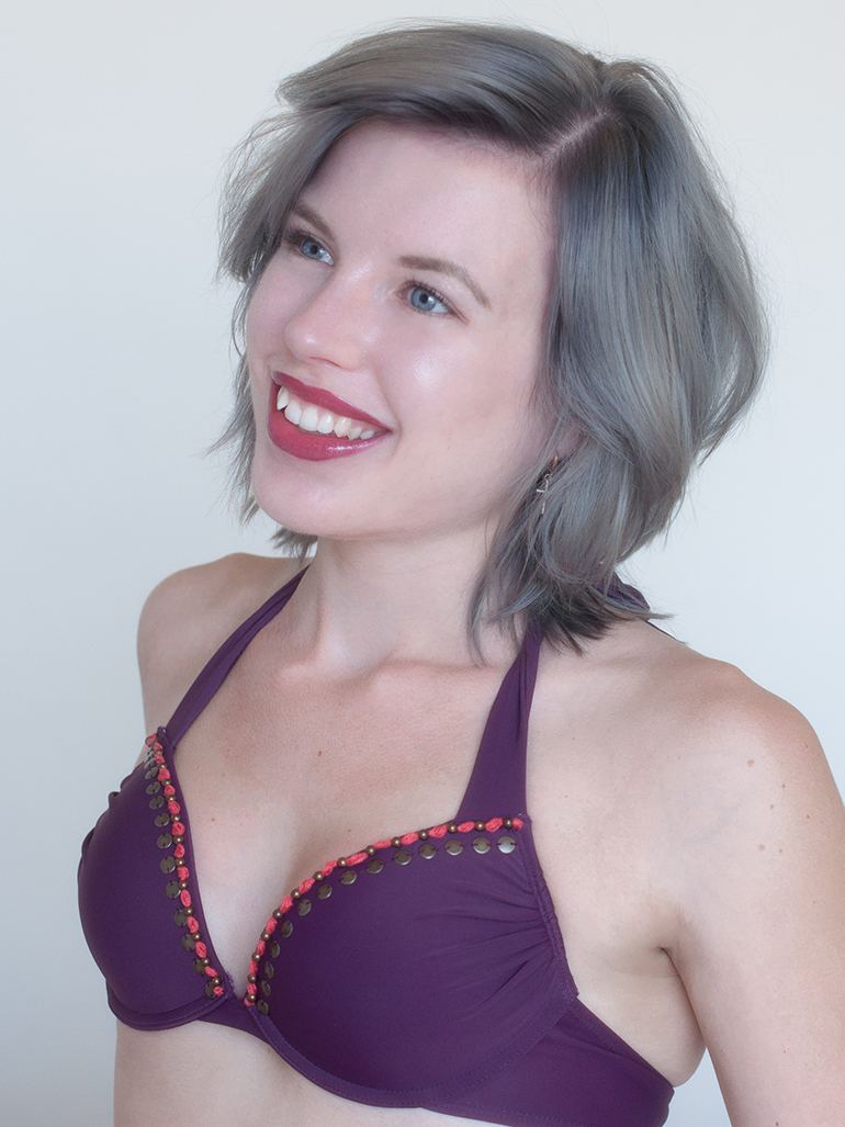 RED REIDING HOOD: Fashion blogger Hunkemöller bikini top