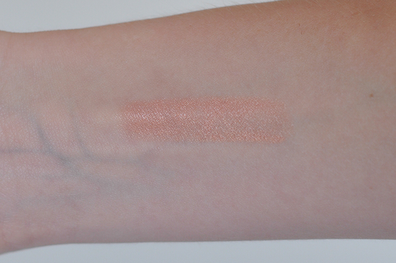 RED REIDING HOOD: Beauty blogger review smashbox l.a. lights blendable lip & cheek color silver lake sunset swatch arm