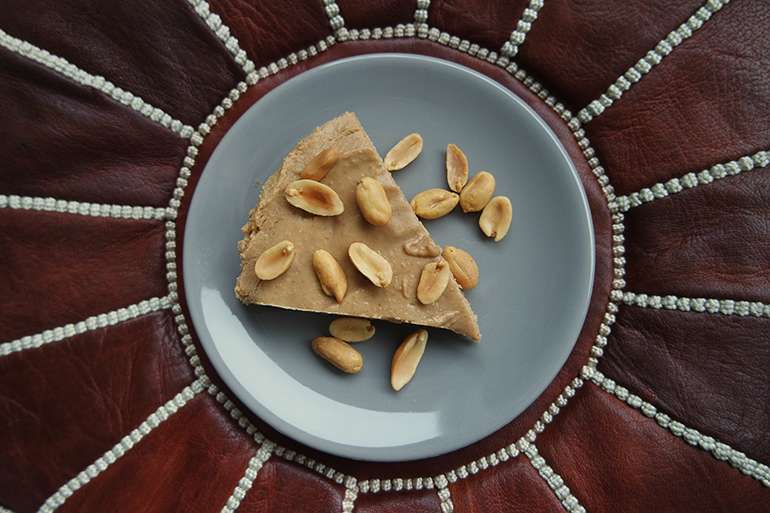 RED REIDING HOOD: Healthy recipe clean eating no-bake peanut butter banana pie