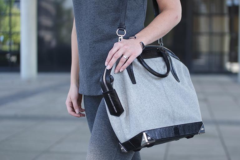 RED REIDING HOOD: Fashion blogger wearing alexander wang emile tote designer bag outfit details