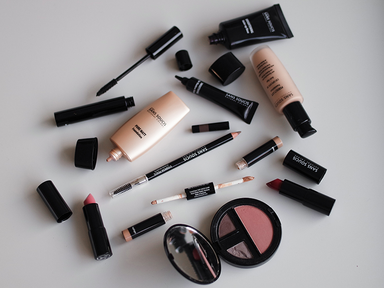 RED REIDING HOOD: Sans Soucis make up beauty blogger review foundation lipstick