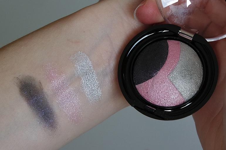 RED REIDING HOOD: Beauty blogger review Sans Soucis Winter Fairtytale rose baked eyeshadow swatches