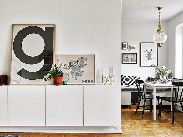 RED REIDING HOOD: Living room interior inspiration playtype letter posters G