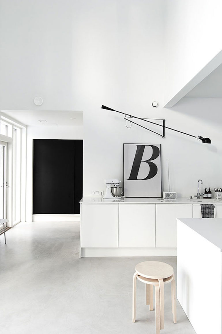 RED REIDING HOOD: Kitchen interior inspiration playtype letter posters B