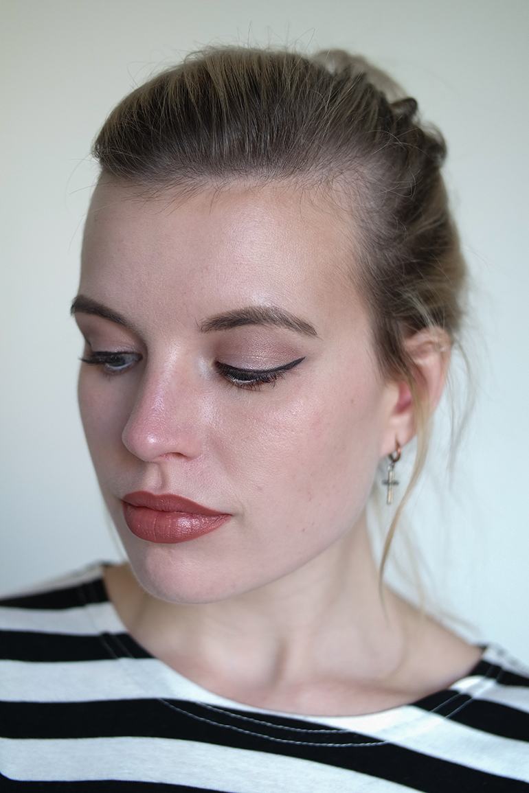 RED REIDING HOOD: Beauty blogger review Sans Soucis Winter Fairtytale Brown Look