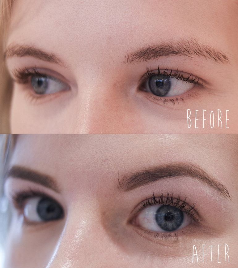 Brow Waxing At Benefit Brow Bar Red Reiding Hoodred Reiding Hood