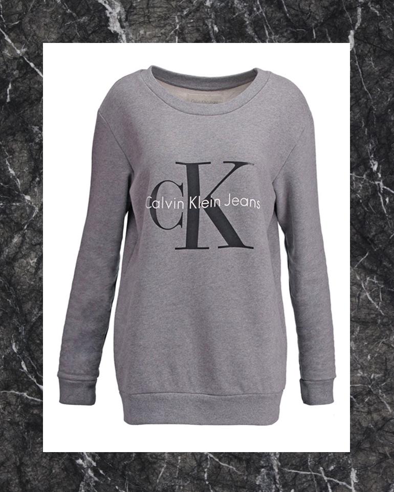RED REIDING HOOD: Calvin Klein Jeans CK sweater kate moss '90s zalando