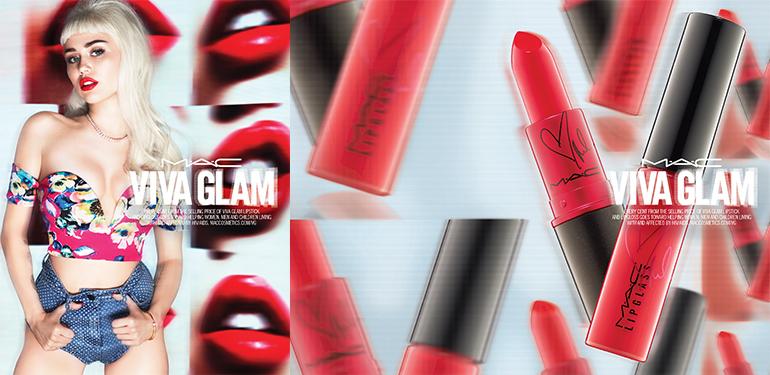 RED REIDING HOOD: MAC VIVA GLAM miley cyrus autumn winter 2015 lipstick