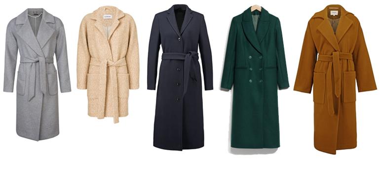 RED REIDING HOOD: Fashion blogger warm woolen wintercoats favorites