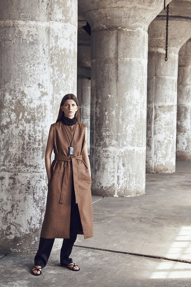 RED REIDING HOOD: The Row Resort 2016 collection runway fashion catwalk