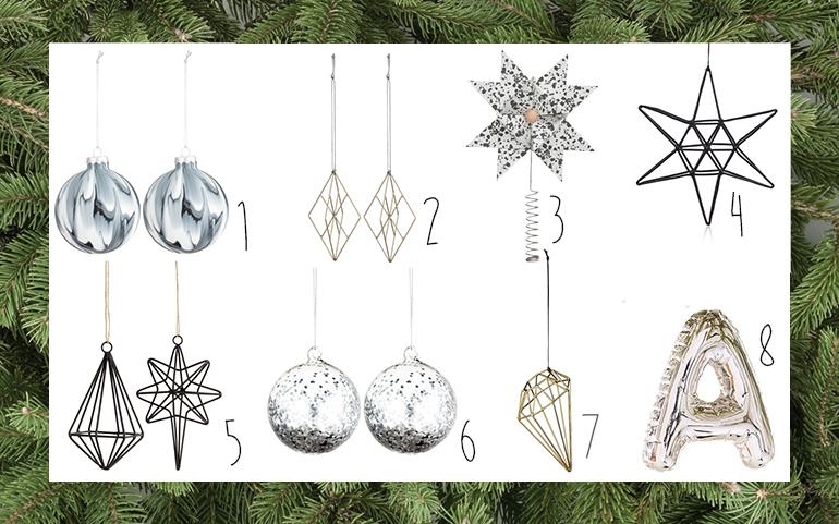 RED REIDING HOOD: Interior blogger minimalistic scandinavian christmas tree decorations styling